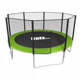 Батут UNIX line Simple 12 ft (366 см) Green (outside) - SportKiosk, г. Сургут, пр. Мира 33/1 оф.213