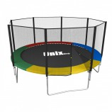 Батут UNIX line Simple 12 ft (366 см) Color (outside) - SportKiosk, г. Сургут, пр. Мира 33/1 оф.213